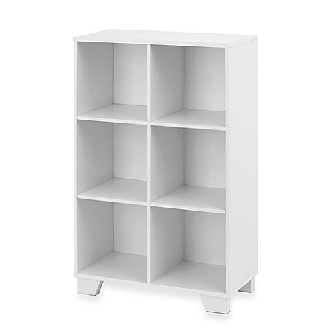 Real Simple 174 6 Cube Storage Unit In White Bed Bath Amp Beyond
