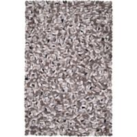 Surya Summit 5' x 8' Hand-Woven Area Rug in Taupe/Gold
