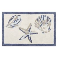 Madison Park Bayside 21-Inch x 34-Inch Cotton Tufted Rug in Blue