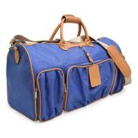 Adrienne Vittadini Rugged 22-Inch Duffle Bag in Denim Blue