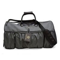 Adrienne Vittadini Rugged 22-Inch Duffle Bag in Black