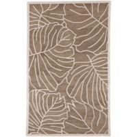 Surya Studio 5' x 8' Hand-Tufted Area Rug in Brown/Neutral