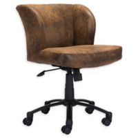 Shaw Zuo® Office Chair in Brown