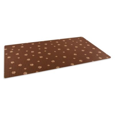 drymate large dog bowl place mats with paw imprint