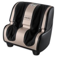 HoMedics Deluxe Foot & Calf Massager with Heat in Silver