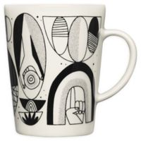 Iittala Graphics Shaped Mug in Black/White