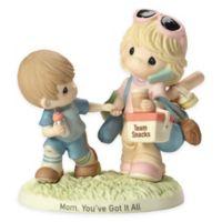Precious Moments® Boy Pulling Mom Figurine