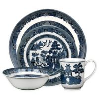 Johnson Brothers Willow Blue 4-Piece Place Setting