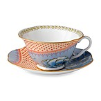Wedgwood® Butterfly Bloom Blue Peony Teacup and Saucer