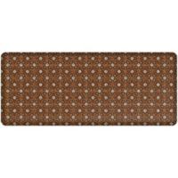 """GelPro® NewLife® Verona 30"""" x 72"""" Designer Comfort Mat in Brown"""