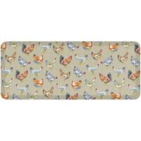 "Gelpro® Chicken Run 20"" x 48"" Kitchen Mat in Warm Stone"