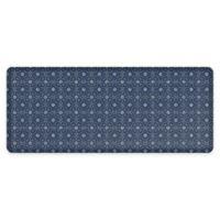 "GelPro® NewLife® Verona 30"" x 72"" Designer Comfort Mat in Indigo"