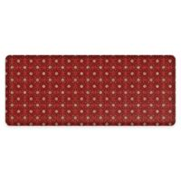 """GelPro® NewLife® Verona 30"""" x 72"""" Designer Comfort Mat in Sangria"""