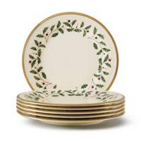 Lenox® Holiday™ Salad Plates (Set of 6)