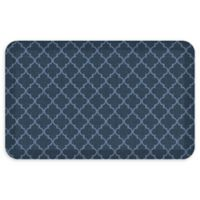 "GelPro® Designer Comfort 20"" x 32"" Lattice Floor Mat in Dark Denim"