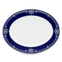 Marchesa by Lenox® Empire Pearl Indigo 13-Inch Oval Platter
