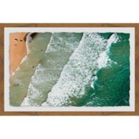Marmont Hill Crashing Waves 18-Inch x 12-Inch Framed Wall Art