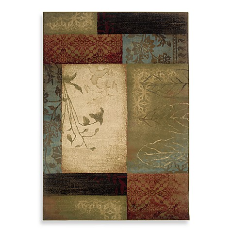 Oriental Weavers Hudson Area Rug In Multi Collage Bed