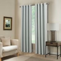 Paradise Room Darkening Grommet Top Window Curtain Panel