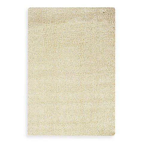 Oriental Weavers Loft Shag Area Rug In Off White Bed