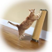 Omega Paw Lean-It Anywhere™ 20-Inch Regular Scratching Post in Natural