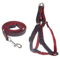 PETMAKER 5-Foot Dog Harness and Leash Set in Red