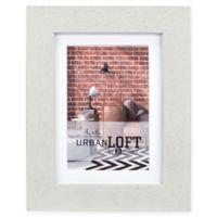 Malden® Urban Loft 4-Inch x 6-Inch Matted Wood Picture Frame in Grey