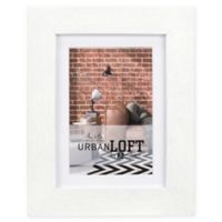 Malden® Urban Loft 4-Inch x 6-Inch Matted Wood Picture Frame in White