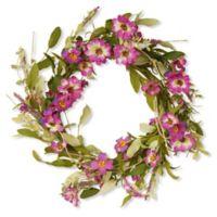 National Tree Company® 20-Inch Artificial Garden Accents Purple Daisy Wreath