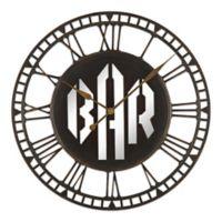 Sterling & Noble® Bar Wall Clock