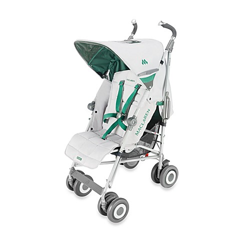 maclaren techno xlr stroller in silver and pine green bed bath beyond. Black Bedroom Furniture Sets. Home Design Ideas