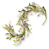 National Tree Company® 5-Foot Spring Purple Flower Garland