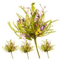 National Tree Company® Artificial Spring Flower Stems (Set of 4)