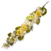 "National Tree Company® 33"" Artificial Spring Flower Garland in Yello"