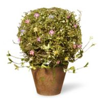 "National Tree Company® 16"" Artificial Spring Flower Tree in Urn Planter"