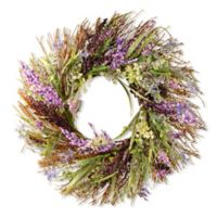 National Tree Company® 22-Inch Mixed Leaf Spring Artificial Wreath