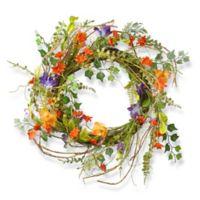 National Tree Company 22-Inch Morning Glory Wreath
