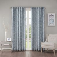 Regency Heights Cosma 63-Inch Rod Pocket/Back Tab Window Curtain Panel in Blue