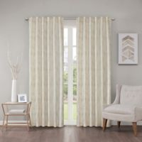 Regency Heights Cosma 63-Inch Rod Pocket/Back Tab Window Curtain Panel in Ivory