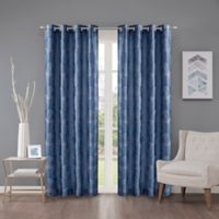 Cosma 108-Inch Grommet Room Darkening Window Curtain Panel in Sapphire