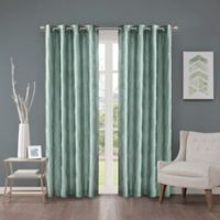 Cosma 108-Inch Grommet Room Darkening Window Curtain Panel in Aqua
