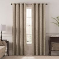 Chantal 84-Inch Grommet Room Darkening Window Curtain Panel in Wheat