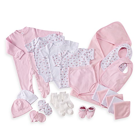 Cutie Pie Baby 22-Piece Gift Box Set in Pink