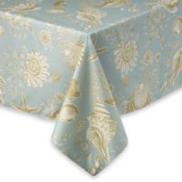 Natural Shell 60-Inch x 120-Inch Tablecloth