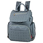 Fisher Price® Hayden Quilted Backpack Diaper Bag in Grey