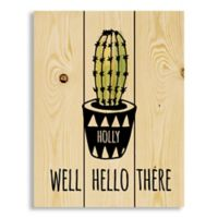 "Designs Direct ""Well Hello There"" Pallet Wood Art"
