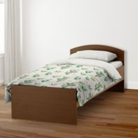 Designs Direct Small Cactus Twin Duvet Cover in Green