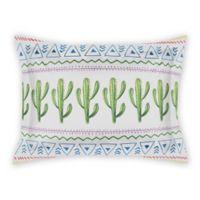 Designs Direct Aztec Cactus Pillow Sham in Green