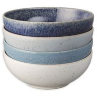 Denby Studio Blue Cereal Bowls in Blue/White (Set of 4)