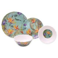 222 Fifth Calabria Mixed 12-Piece Dinnerware Set